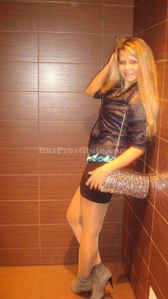 Russian Prostitute Dina. Photo 3